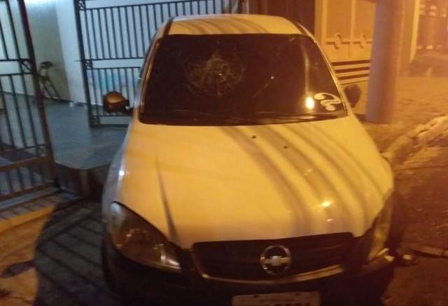 Mãe estava amamentando filha, quando carro foi atingido por outro veículo — Foto: Arquivo Pessoal