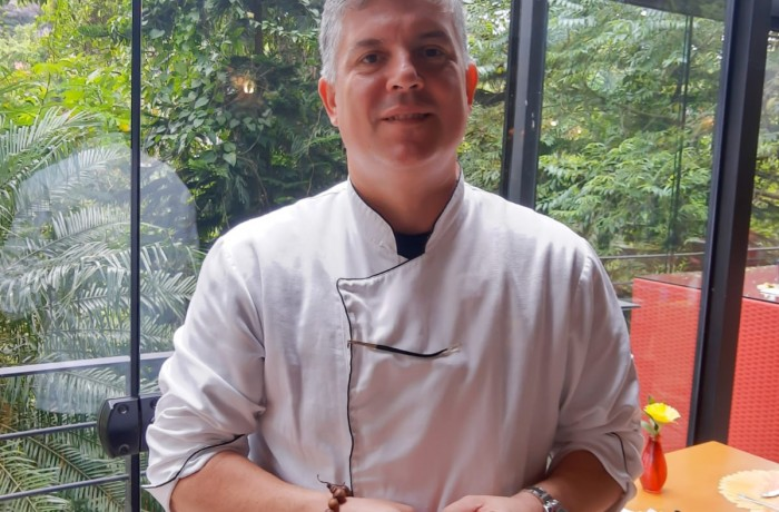 Chef Alex Caputo. Foto: Emerson Gonçalves