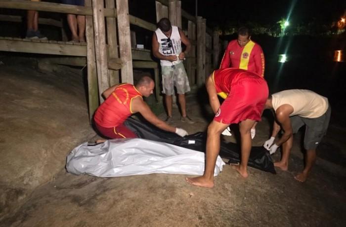 Garota foi encontrada há 600 metros do local onde ocorreu o afogamento – Foto: Ricardo Alves/NDTV
