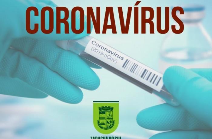Boletim coronavírus em Jaraguá do Sul-29/03