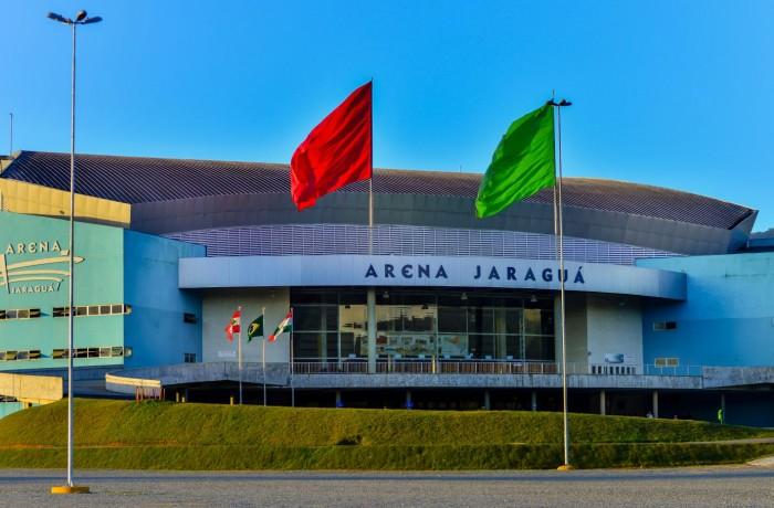 Arena Jaraguá. Foto: Prefeitura de Jaraguá do Sul