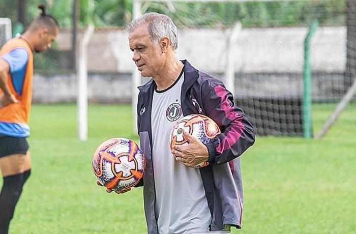 Técnico do Juventus, Jorginho. Foto: Divulgação/Juventus