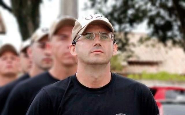 Cabo Ribeiro morreu na madrugada desta quarta-feira, no hospital São José, em Criciúma — Foto: Polícia Militar/Divulgação
