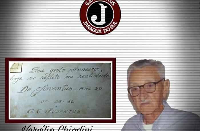 Juventus de Jaraguá do Sul perde um de seus fundadores