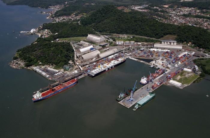 Porto de São Francisco do Sul — Foto: Porto de São Francisco do Sul/Divulgação