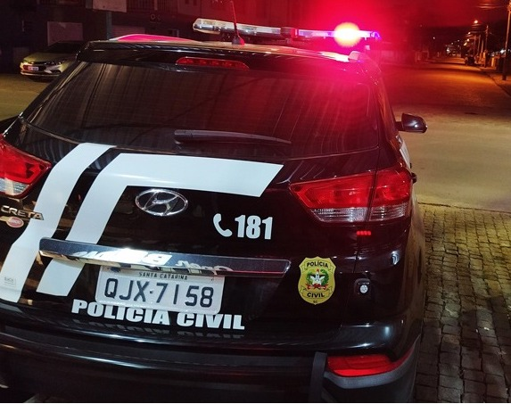 Polícia Civil efetua a prisão de suspeito de latrocínio em Barra Velha