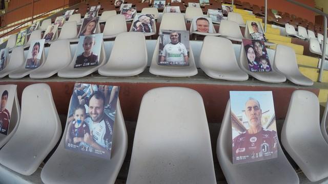 orcida do Juventus em placas (Foto: ALE VIANNA/ALTAPHOTO/ESTADÃO CONTEÚDO)