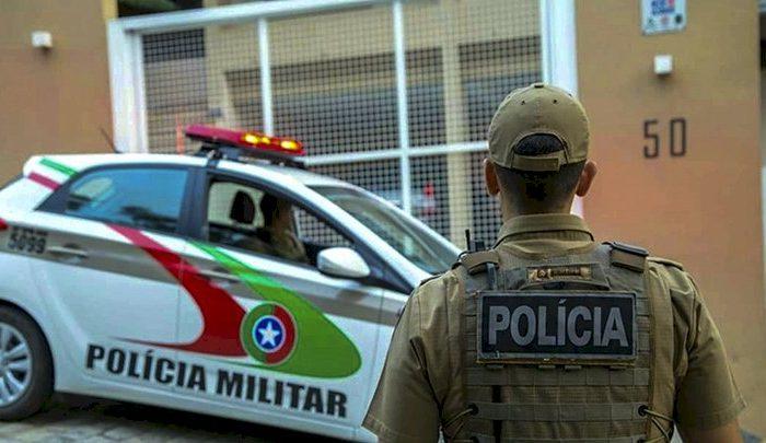 PM com licença por Covid-19 é preso enquanto fazia 'bico' em comércio de Florianópolis – Polícia Militar/Arquivo/ND