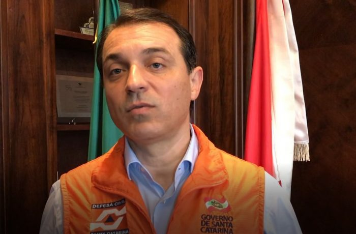 Governador de SC, Carlos Moisés (PSL) é alvo de abertura de impeachment na Alesc — Foto: Secom/Divulgação