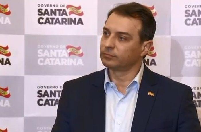 Governador de Santa Catarina negou envolvimento em irregularidades na compra de respiradores — Foto: Secom SC/Reprodução