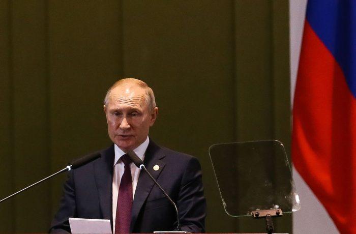 O presidente da Russia, Vladimir Putin. Crédito: Valter Campanato / Agência Brasil