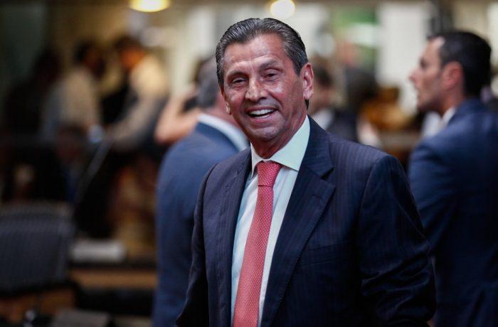 Deputado Julio Garcia quando assumiu presidência da Assembleia Legislativa de Santa Catarina — Foto: Fábio Queiroz / Agência AL