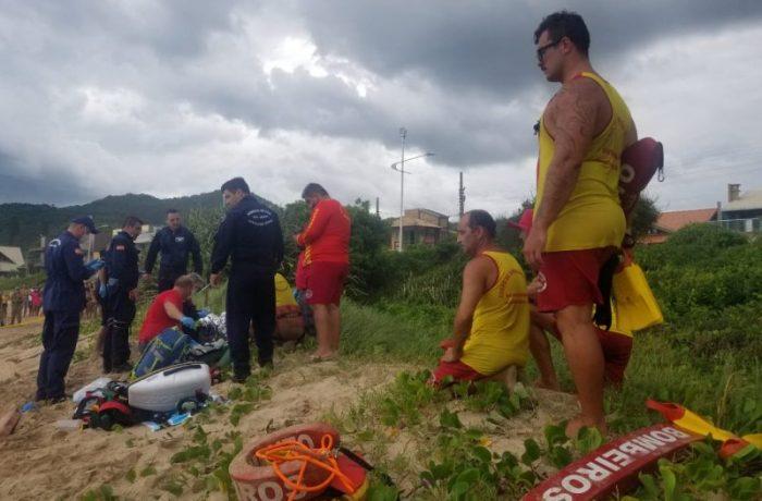 Mulher morre afogada em Penha, no Litoral Norte de SC