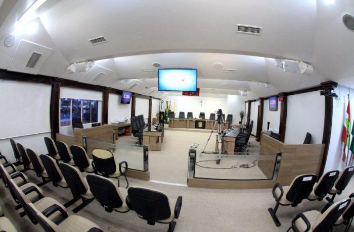 Como será a volta das sessões presenciais na Câmara de Jaraguá do Sul