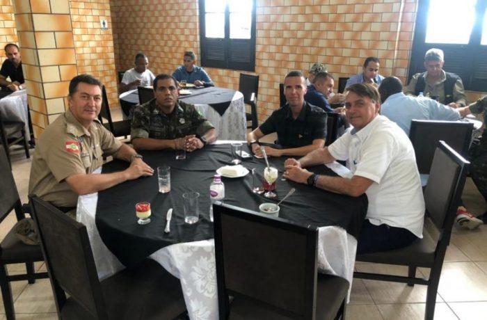 Senador Jorginho Melo também esteve com o presidente – Foto: Divulgaçao