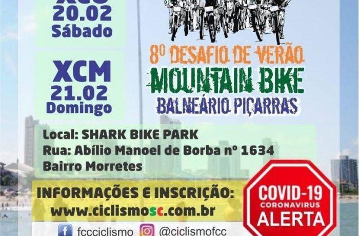 Seis ciclistas representam Jaraguá no 8º Desafio de Verão Mountain Bike