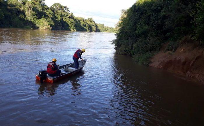 Adolescente desaparece após afundar em rio no Norte de SC