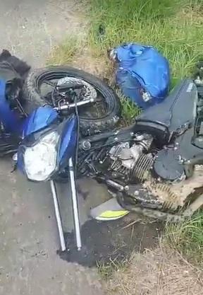 Homem morre em acidente de moto na BR-280, em Guaramirim