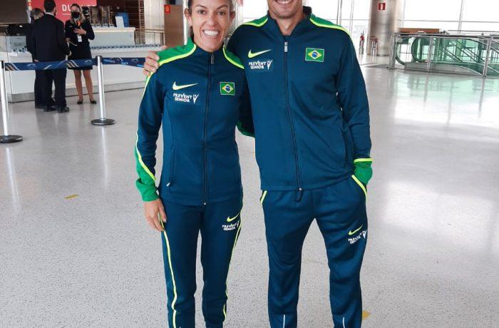 Simone Ferraz e Abel Curtinove seguem para o Sul-Americano de Atletismo