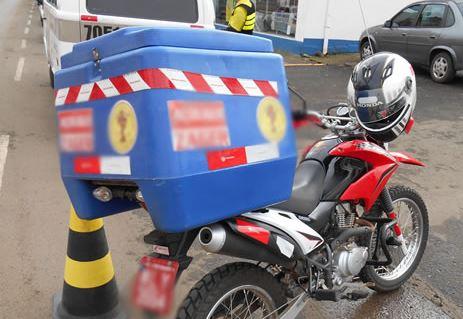 Motoboys e motofretistas no foco de nova operação da PM em Jaraguá do Sul