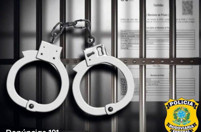 Procurado por estupro de vulnerável é preso na BR-101
