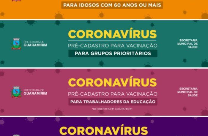 Agendamento da vacinação a partir de 54 anos abre na quarta em Guaramirim