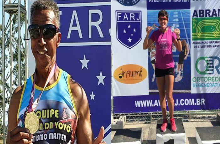 Dois atletas de Jaraguá trazem cinco medalhas de ouro de competição no RJ