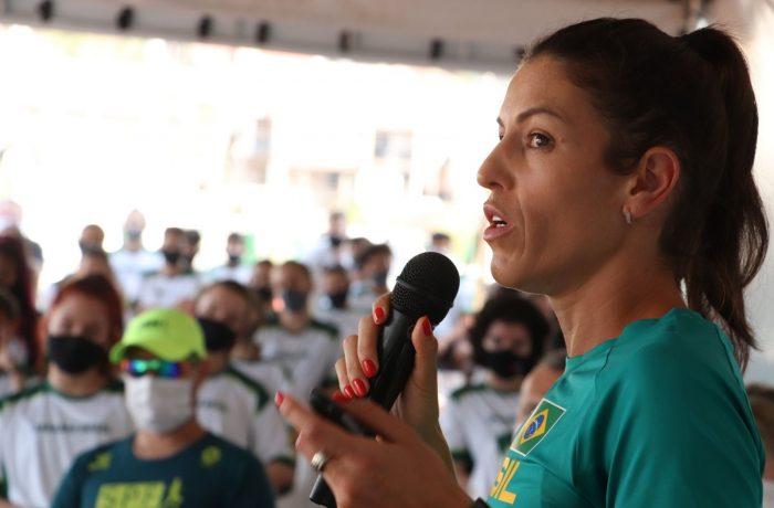 Secel promove palestra com atleta olímpica