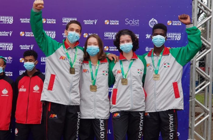 Delegação de atletismo de Jaraguá é destaque em evento nacional