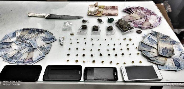 Dupla é detida traficando crack em Jaraguá do Sul