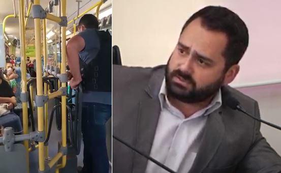 Transporte coletivo: Vereador reclama falta de informações e promete parar ônibus superlotados